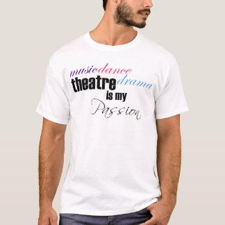 劇場の情熱 Tシャツ