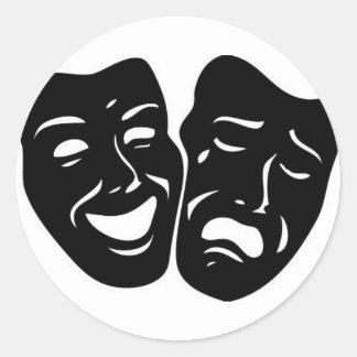 劇場の記号 ラウンドシール