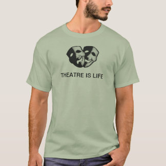 劇場は生命です Tシャツ