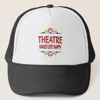 劇場は生命を幸せにさせます キャップ