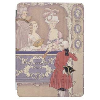 劇場箱、「Les Liaからのイラストレーションの女性 iPad Air カバー