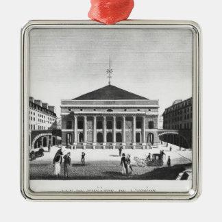 劇場de l'Odeon、c.1830 メタルオーナメント