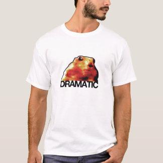 劇的なハムスターかシマリスまたはプレーリードッグ Tシャツ