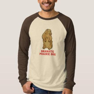 劇的なプレーリードッグ Tシャツ