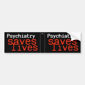 劇的な親精神医学のデカール(1)の2 バンパーステッカー
