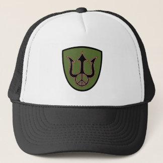力および平和-三叉の矛-ピースサインの帽子 キャップ