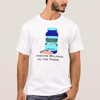 力にバランスを持って来ること Tシャツ