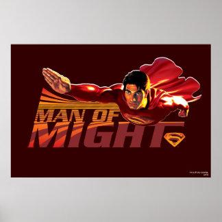 力のスーパーマンの人 ポスター