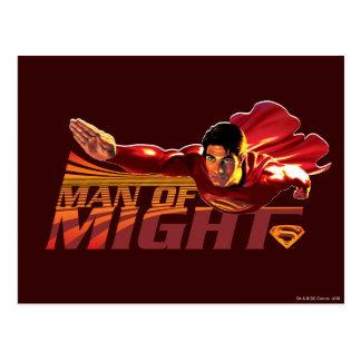 力のスーパーマンの人 ポストカード
