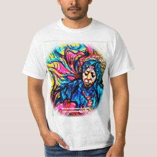 力のブルーヘイズのサイケデリックなTシャツ Tシャツ