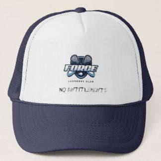 力のラクロスクラブトラック運転手の帽子 キャップ