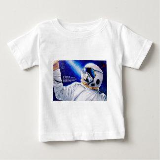 力の乳児のティーを受け取って下さい ベビーTシャツ