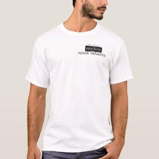 力の思考のTシャツ Tシャツ