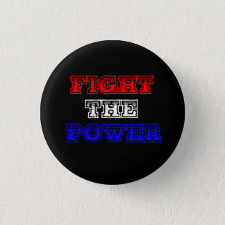 力の改革ボタンのpinbackを戦って下さい 3.2cm 丸型バッジ