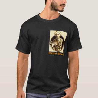 力の暗いティーのデザイン Tシャツ