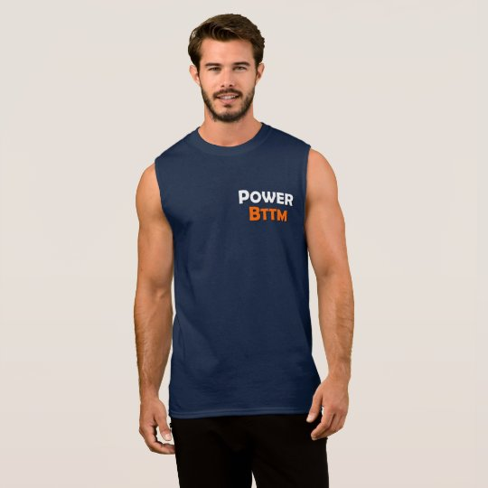 力の最下のゲイの男性の袖なしのTシャツ 袖なしシャツ