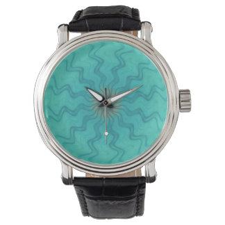 力の花の水の腕時計のヴィンテージ 腕時計