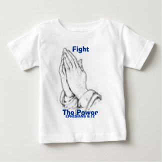 力を戦って下さい ベビーTシャツ