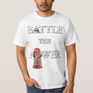 力を戦って下さい! 倍は味方しました Tシャツ