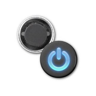 力ボタン(青い) マグネット