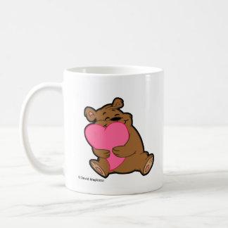 力強い抱擁のマグ コーヒーマグカップ