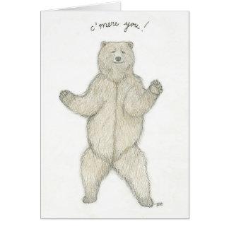 力強い抱擁を必要として下さいか。 カード