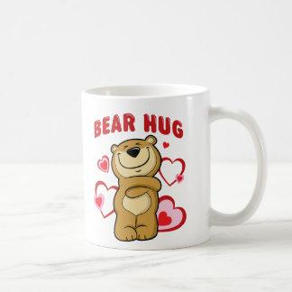 力強い抱擁 コーヒーマグカップ