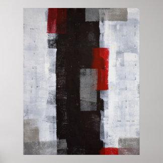 「力旅行」の抽象美術ポスタープリント ポスター