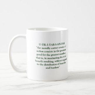 功利的な哲学 コーヒーマグカップ