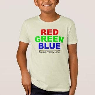 加法混色の原色色(RGB) Tシャツ