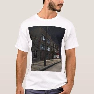 加速: 皮 Tシャツ