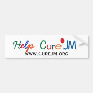 助けの治療JM バンパーステッカー