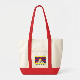 -助けチベットを気にする挑戦 トートバッグ