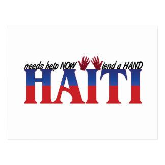 助けハイチ ポストカード