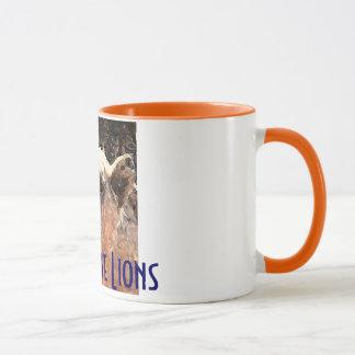 助けライオンを救うため マグカップ