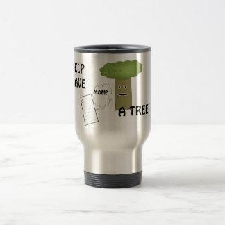 助け木のコーヒー・マグを救うため トラベルマグ