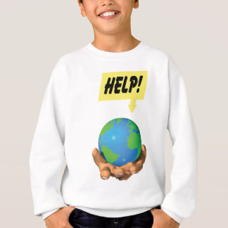 助け! スウェットシャツ