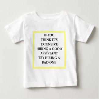 助手 ベビーTシャツ