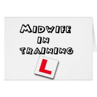 助産婦の訓練 カード