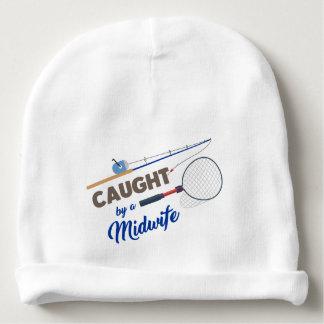 """""""助産婦""""のによってつかまえられて魚釣りの帽子の帽子 ベビービーニー"""