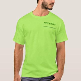 努力はワイシャツサポータ庭いじりをします Tシャツ
