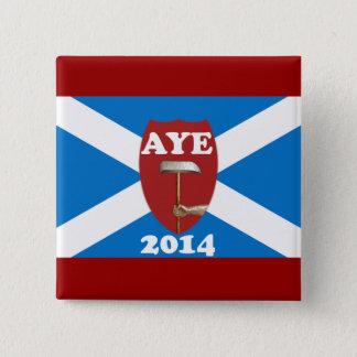 労働組合員のスコットランドの独立旗のバッジ 缶バッジ