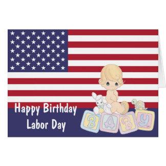 労働者の日のバースデー・カード カード