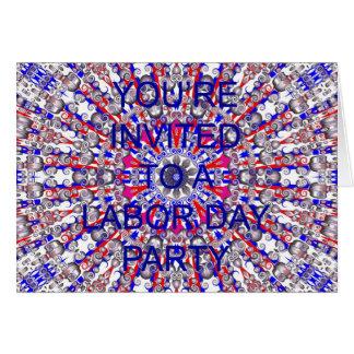 労働者の日の招待カード カード