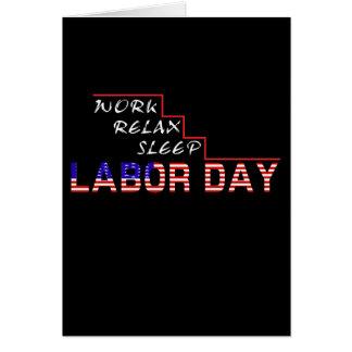 労働者の日 カード