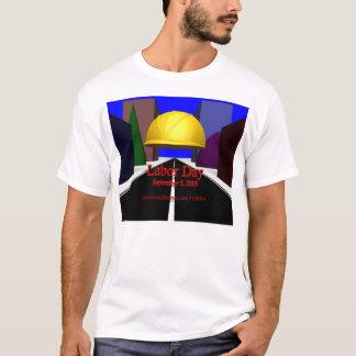 労働者の日(前部) Tシャツ