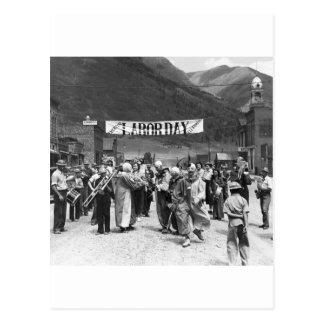労働者の日Clowns 1940年 ポストカード
