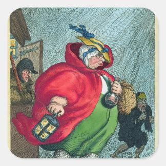 労働1811年に行っている助産婦 スクエアシール