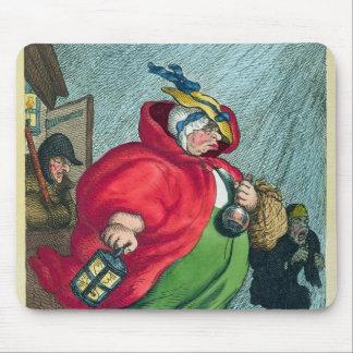 労働1811年に行っている助産婦 マウスパッド