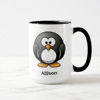 勇敢で小さいペンギン マグカップ